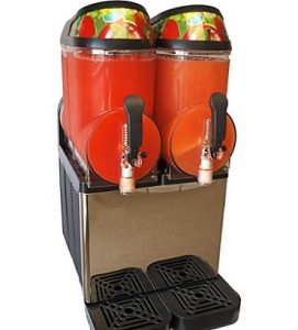 Margarita Girl Double-Bowl Full-Size Frozen Drink Machine