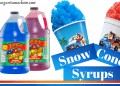 Best Snow Cone Syrups