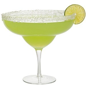 Extra Large Giant Cinco De Mayo Margarita Glass - 34oz - Fits about 3 typical margaritas!