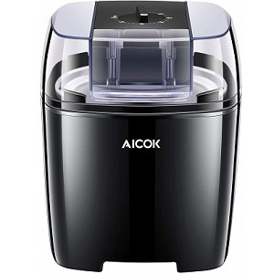 Aicok Frozen Yogurt, Ice Cream, and Sorbet Maker Machine