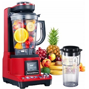 Bonsenkitchen High-Speed Vacuum Blender
