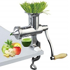 Happybuy Wheatgrass Extractor Portable Wheatgrass Juicer