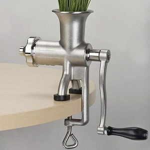 Miracle MJ445 Exclusives Manual Wheatgrass Juicer