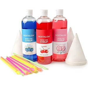 Nostalgia SCK3 Premium Syrup Party Kit