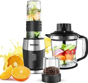FOCHEA High-Speed 700-Watt Juicer Blender Combo