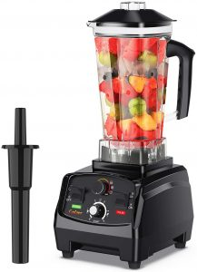 COLZER Professional Countertop Blender with 2200-Watt Base,Best Blender for Frozen Drinks Shakes and Smoothies