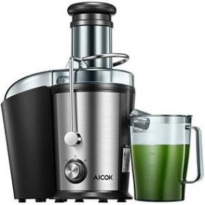 Aicok 800W Stainless Steel Centrifugal Juicer reviews 2021